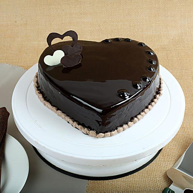 Chocolate Hearts Cake 1kg