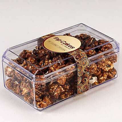 Delicious chocolate popcorn box online