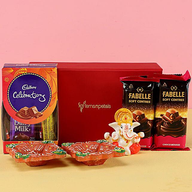 Buy Chocolates & Ganesha Luck Hamper