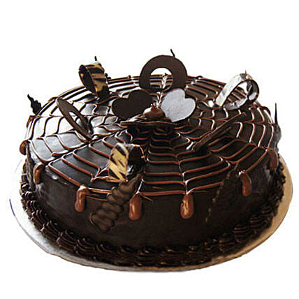 Chocolatey Drops of Pride Cake Half kg:Cakes Welcome New Born