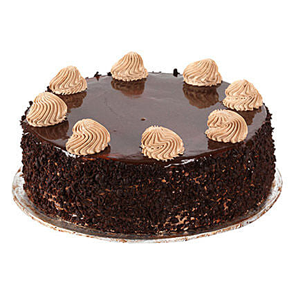 Chocolaty Indulgence 1kg:Birthday Cakes Delivery in Mumbai