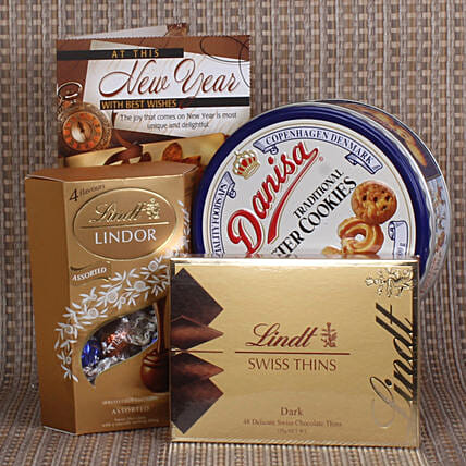 Premium Cookie Hamper For New Year Online