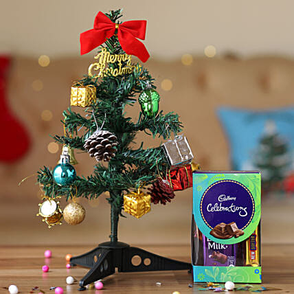 Artificial Christmas Tree with Chocolate Online