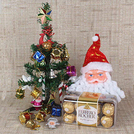 Online Christmas Tree with Ferrero Rocher