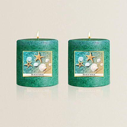 Scented Candle Glass Set