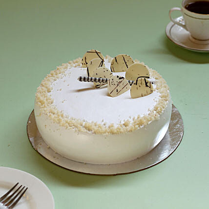 Vanilla cream Cake online:Cake to Welcome Baby