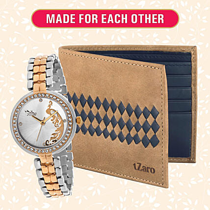 Classic Watch and Wallet Set