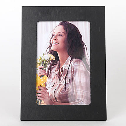 attractive black photo frame for her:Personalised Photo Frames for Anniversary