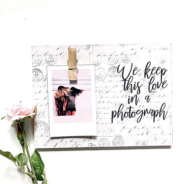 Photo Clip Frame For Love