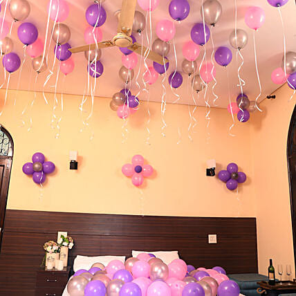 Multicolor Balloons For Decor:Chennai Mother's Day gifts