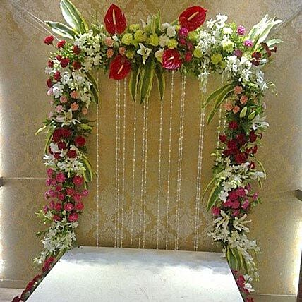 Colourful Floral Decoration