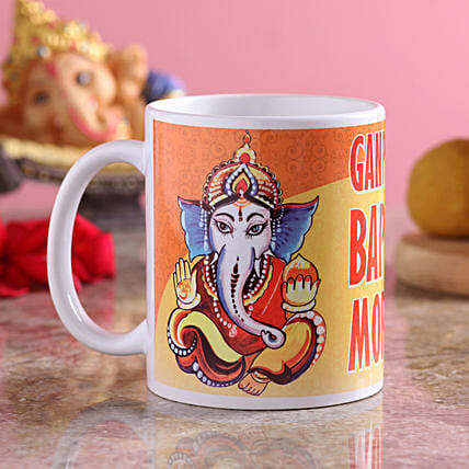 Bright Coffee Mug Ganesh Chaturthi
