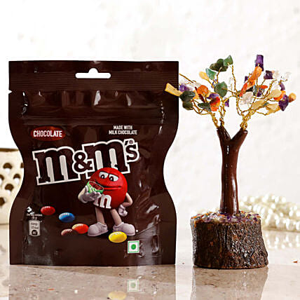 Colourful Wish Tree Chocolate M Ms
