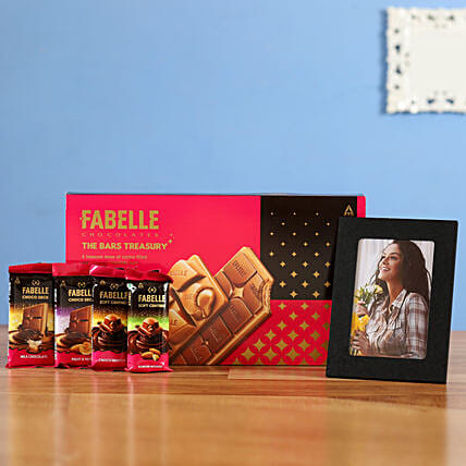 Combo of Fabelle Bars Treasury Personalised Photo Frame