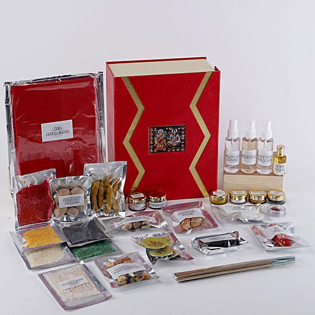 Complete Pooja Box:Pooja Samagri Boxes