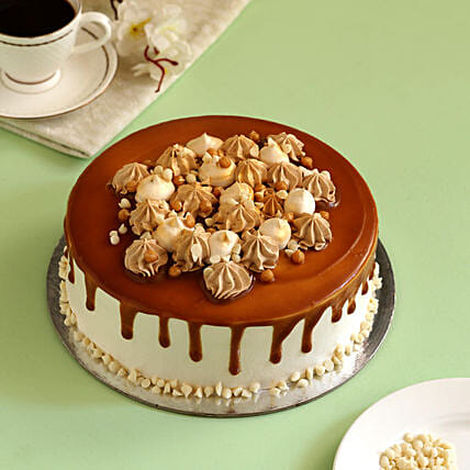 Online Caramel Cake:Daughters Day Cakes