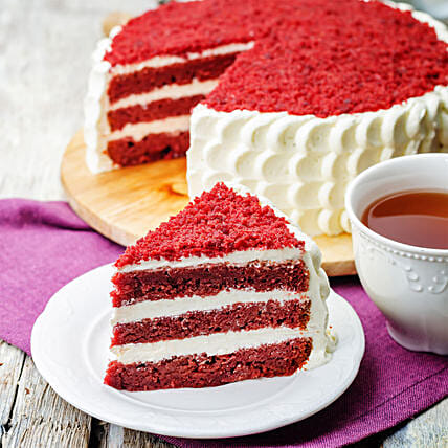 Designer Red Velvet Cake Online:Red Velvet Cake
