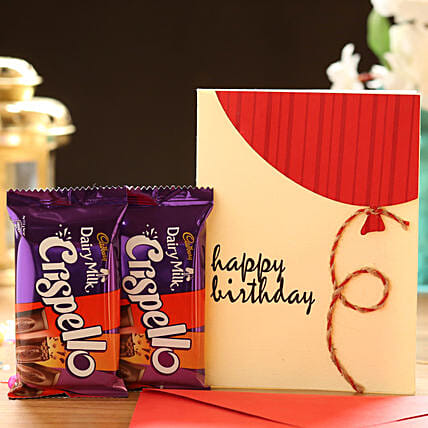 Chocolate with Birthday Card Online:Chocolate Combos