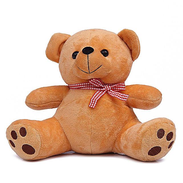 Cute & Cuddly Brown Poppy Teddy Bear:Teddy Bears