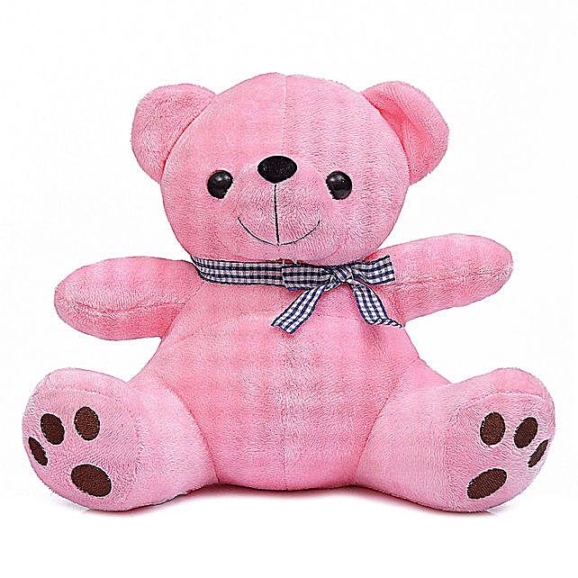 Cute & Cuddly Pink Poppy Teddy Bear