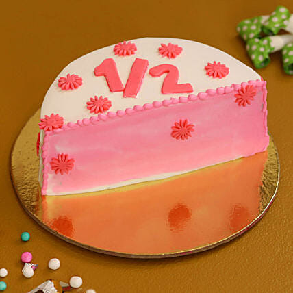 half shape cake online:New Arrival Cakes