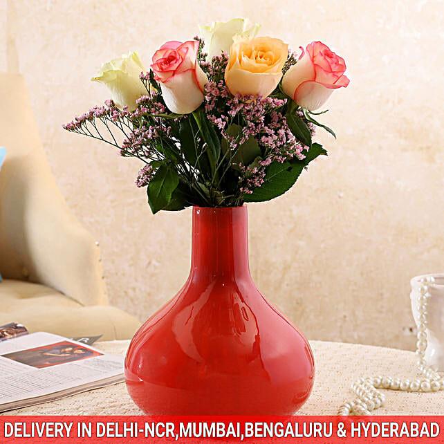 floral arrangement for her:Premium Roses Delivery