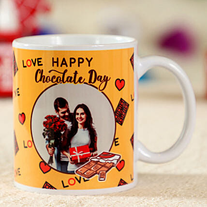 Cute Personalised Mug for Chocolate Day