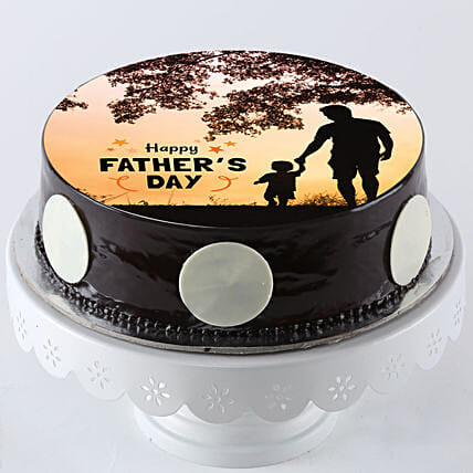 Online Photo Cake For Papa