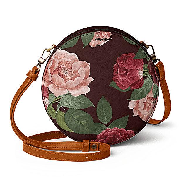 Online Lovely Blooms- Orbis Crossbody Bag