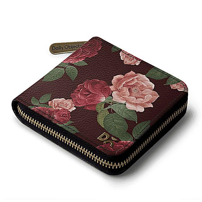 Online Lovely Blooms Zip Wallet