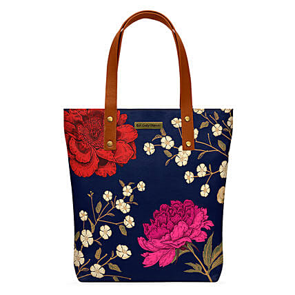 Online Midnight Chrysanthemums Classic Tote Bag