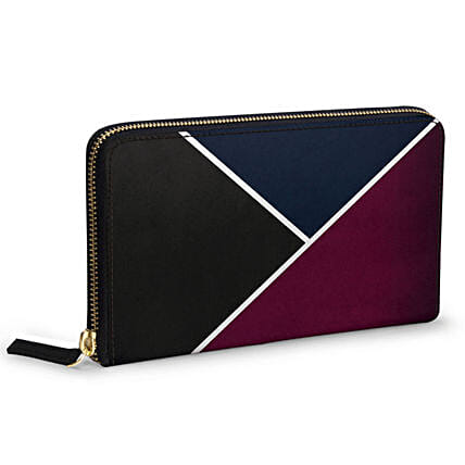 Online Red And Royal Women's Classic Wallet