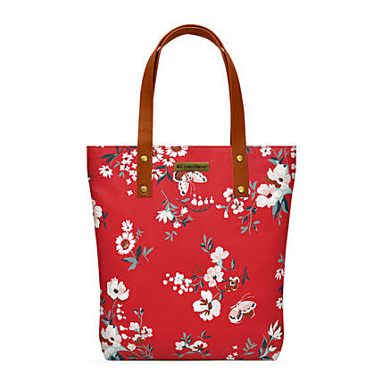 Online Red Buterflies Classic Tote Bag:Tote Bags