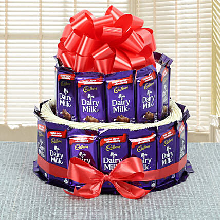 Cadbury Chocolates Bouquet chocolates choclates:Chocolate Anniversary Gifts