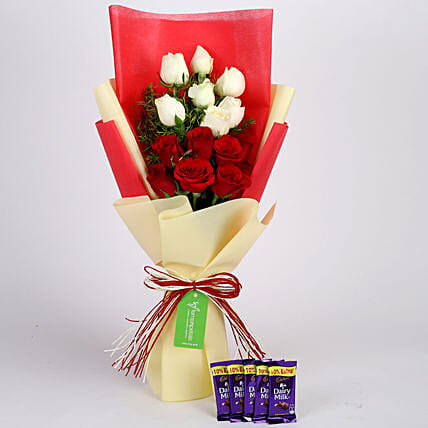 Chocolate and Roses Combo Online