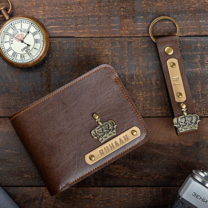 Online Personalised Wallet And Keychain:Personalised Accessories