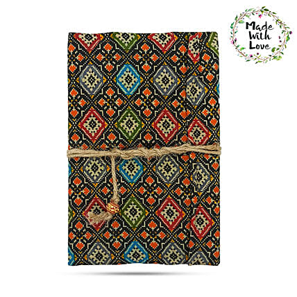 Dark Mosaic Soft Two Fold Notebook Online