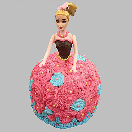 Barbie Doll Design Cake 2kg