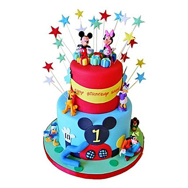 Dazzling Disney Cake 3kg