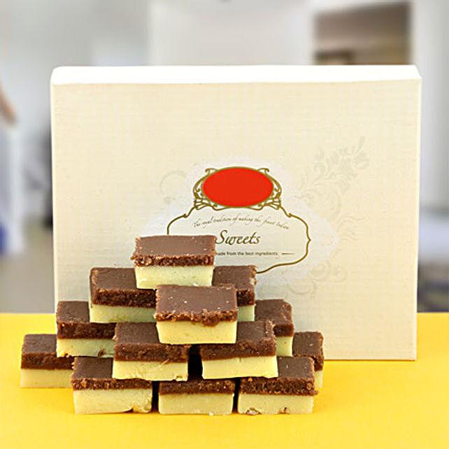 Chocolate burfi Sweets