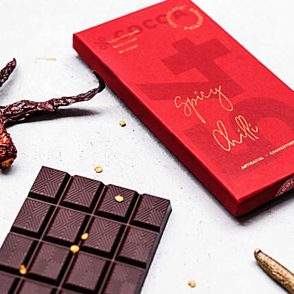 Delicious Dark Chocolate- Chilli