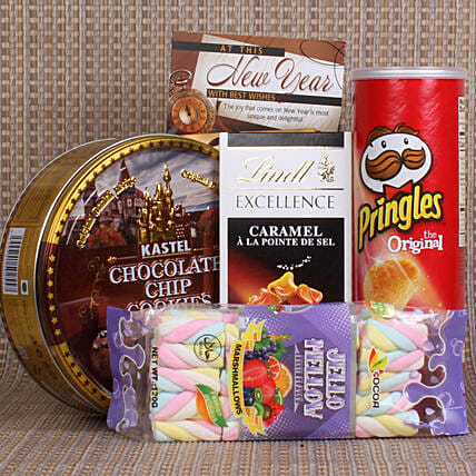 Delicious Chocolate and Cookie Hamper Online