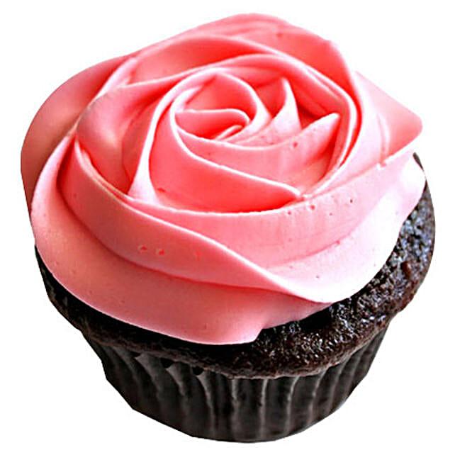 Delicious Rose Cupcake 6