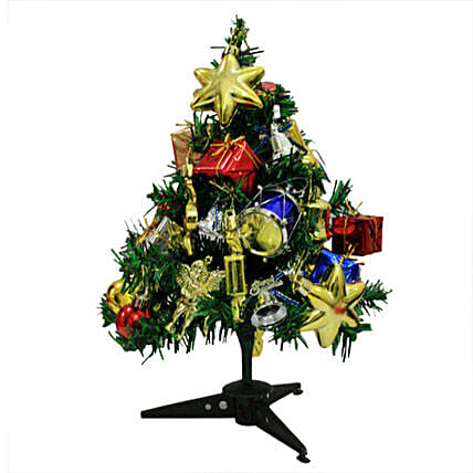 Delight your Christmas-1 feet tall fully decorated Christmas tree:Christmas Tree