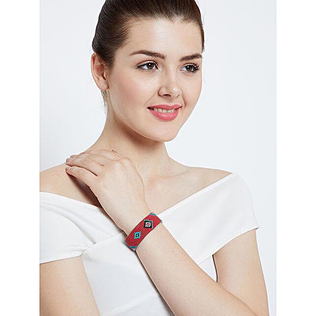 Designer Beads Handmade Bracelet