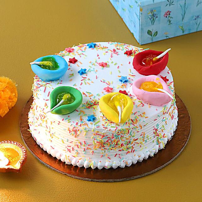 designer cake for diwali online