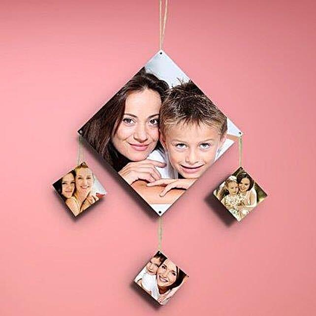 Diamondshaped Personalized Wall Hanging-personalized wall hanging square