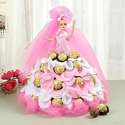 Chocolate Gift in Doll Arrangement