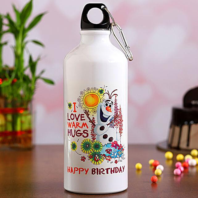 Disney Birthday Wishes Water Bottle
