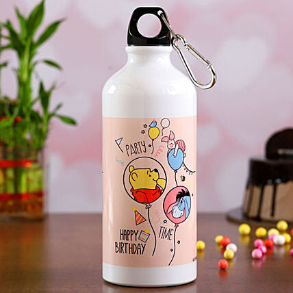 One Printed Water Bottle